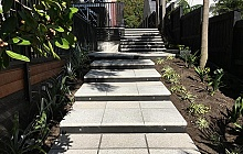 Terrazzo Stoneworks Honed Pavers Steps