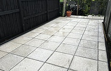 Terrazzo Stoneworks Honed Pavers outside area