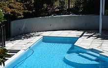 Pool side pavers (St Helliers)