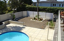 Italian Stone tiling and full landscaping (St Heliers)