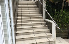 Paved Stairs & Semi-Circle Steps